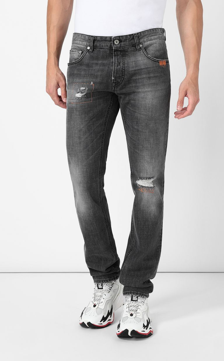 JUST CAVALLI Tiger jeans with a Just Fit Jeans Man r