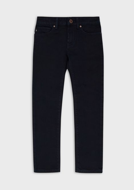 Stretch-cotton denim jeans