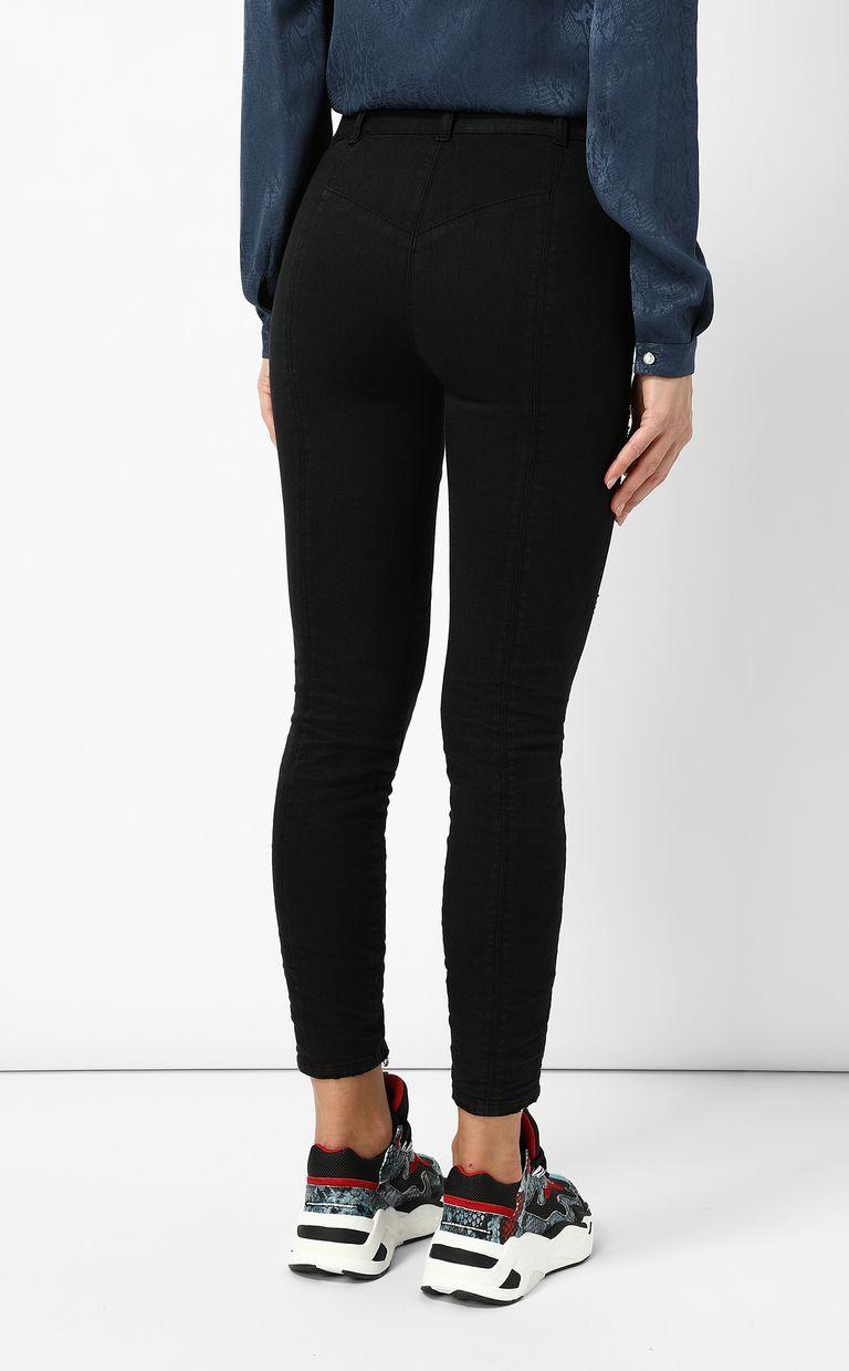 JUST CAVALLI Biker-style jeans Jeans Woman a