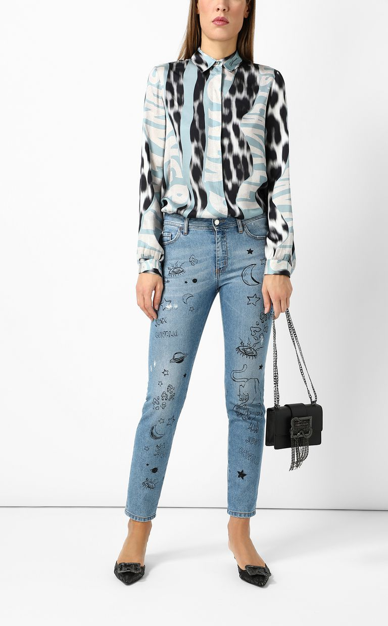 JUST CAVALLI Slim-fit jeans Jeans Woman d