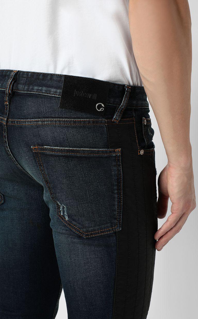 JUST CAVALLI Biker pants Jeans Man e