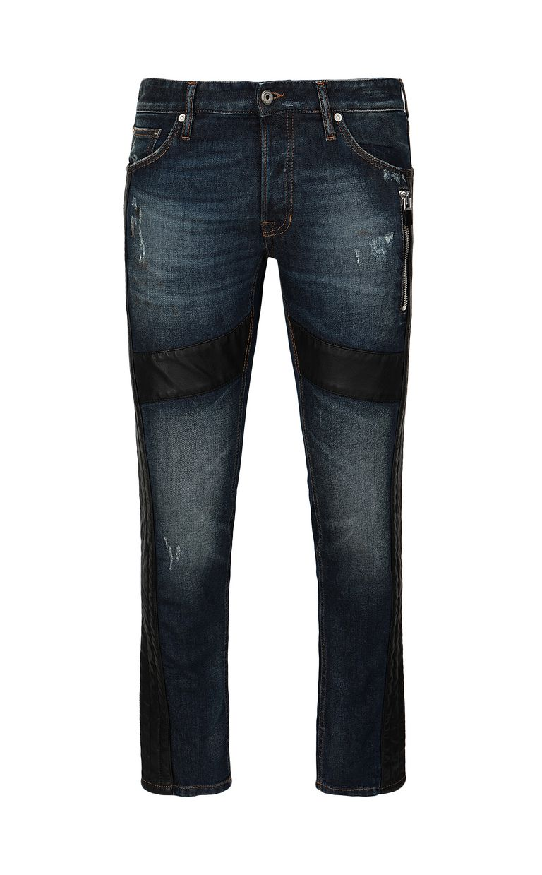 JUST CAVALLI Biker pants Jeans Man f