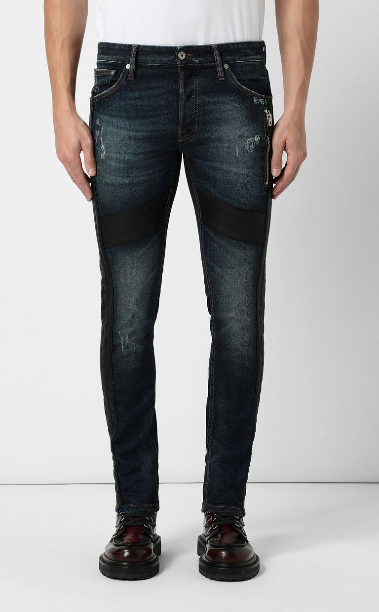 JUST CAVALLI Biker pants Jeans Man r