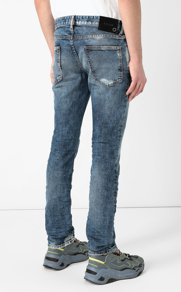 JUST CAVALLI Faded-effect jeans Jeans Man a