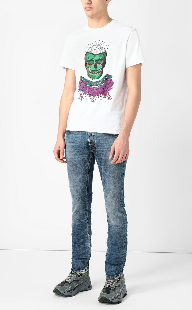 JUST CAVALLI Faded-effect jeans Jeans Man d