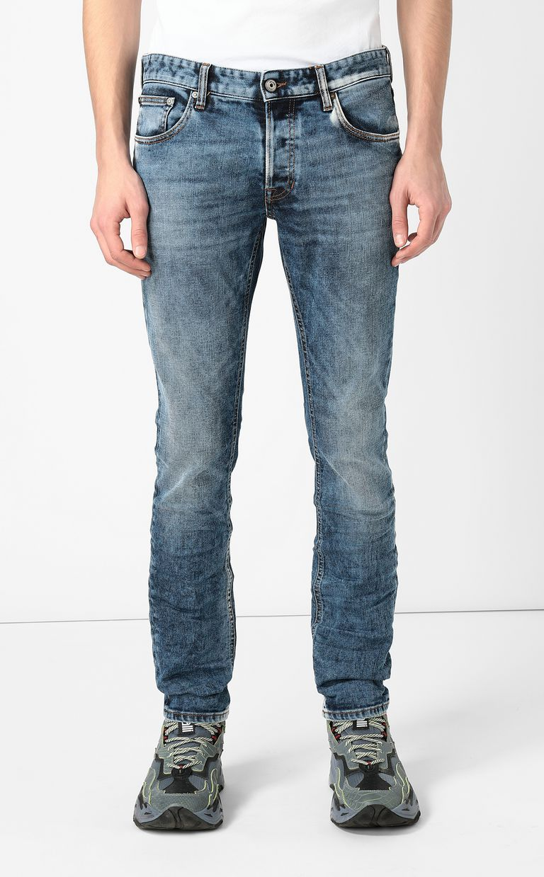 JUST CAVALLI Faded-effect jeans Jeans Man r