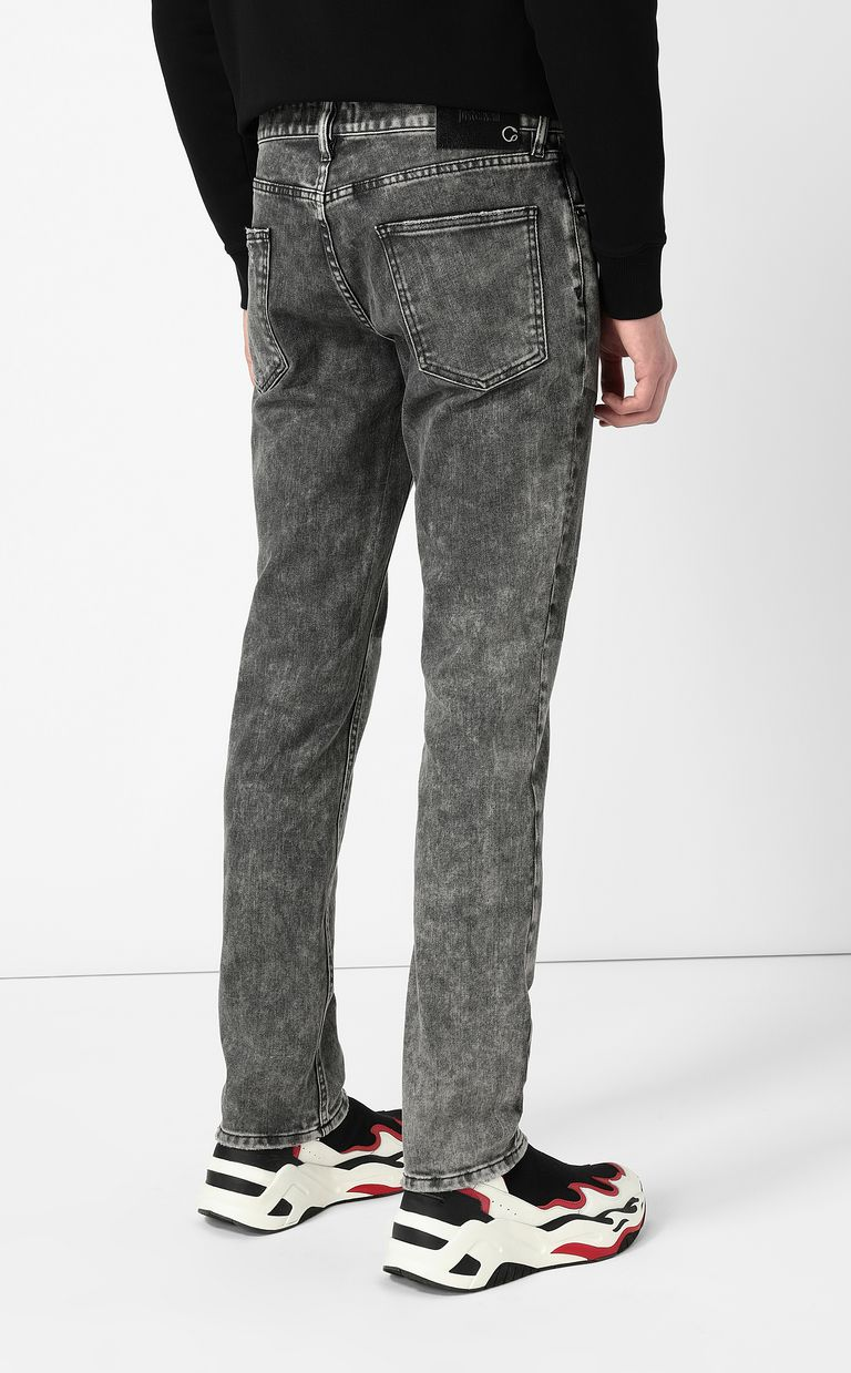 """JUST CAVALLI Grey jeans with a """"Just Fit"""" design Jeans Man a"""