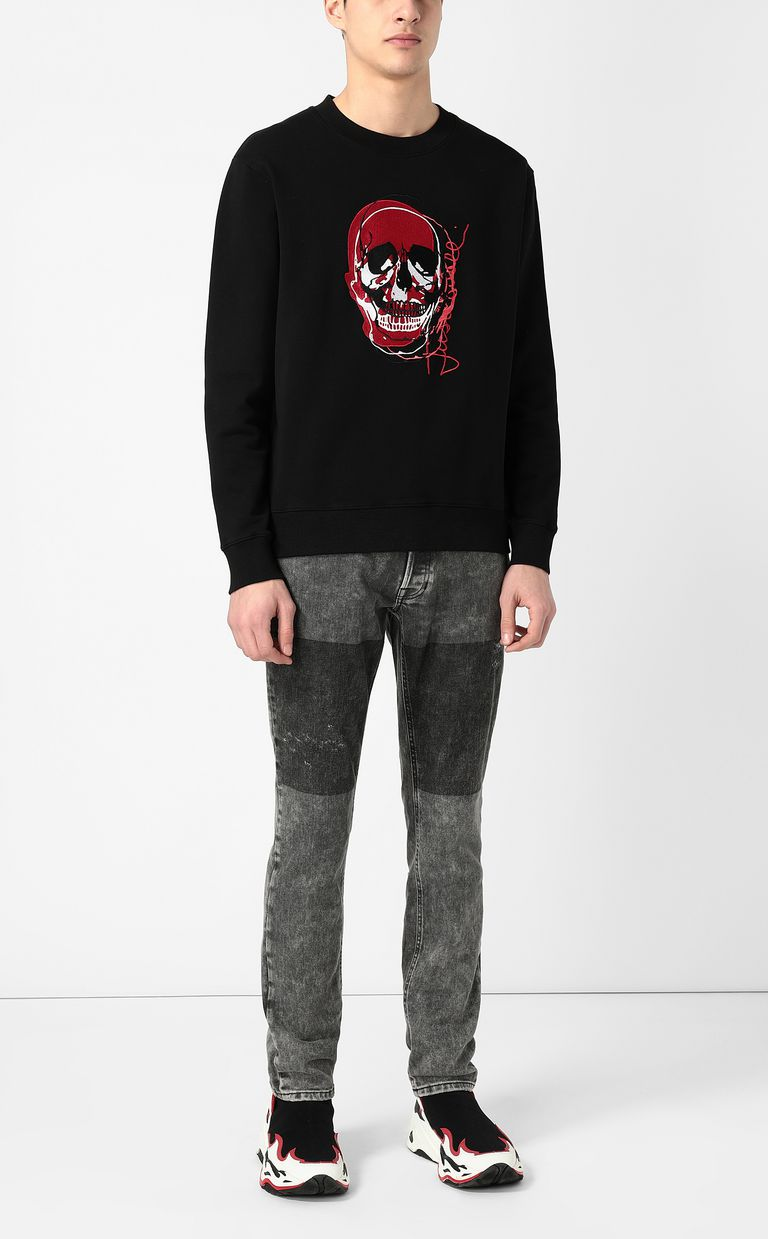 """JUST CAVALLI Grey jeans with a """"Just Fit"""" design Jeans Man d"""