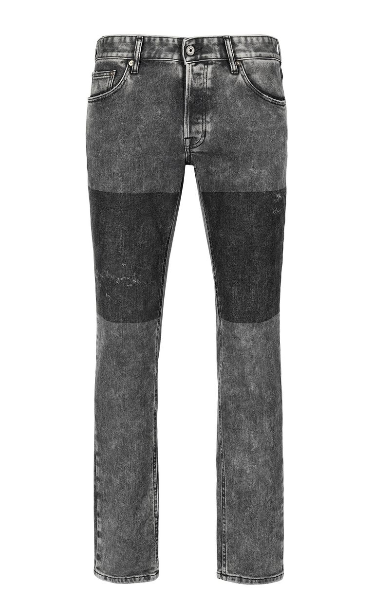 """JUST CAVALLI Grey jeans with a """"Just Fit"""" design Jeans Man f"""
