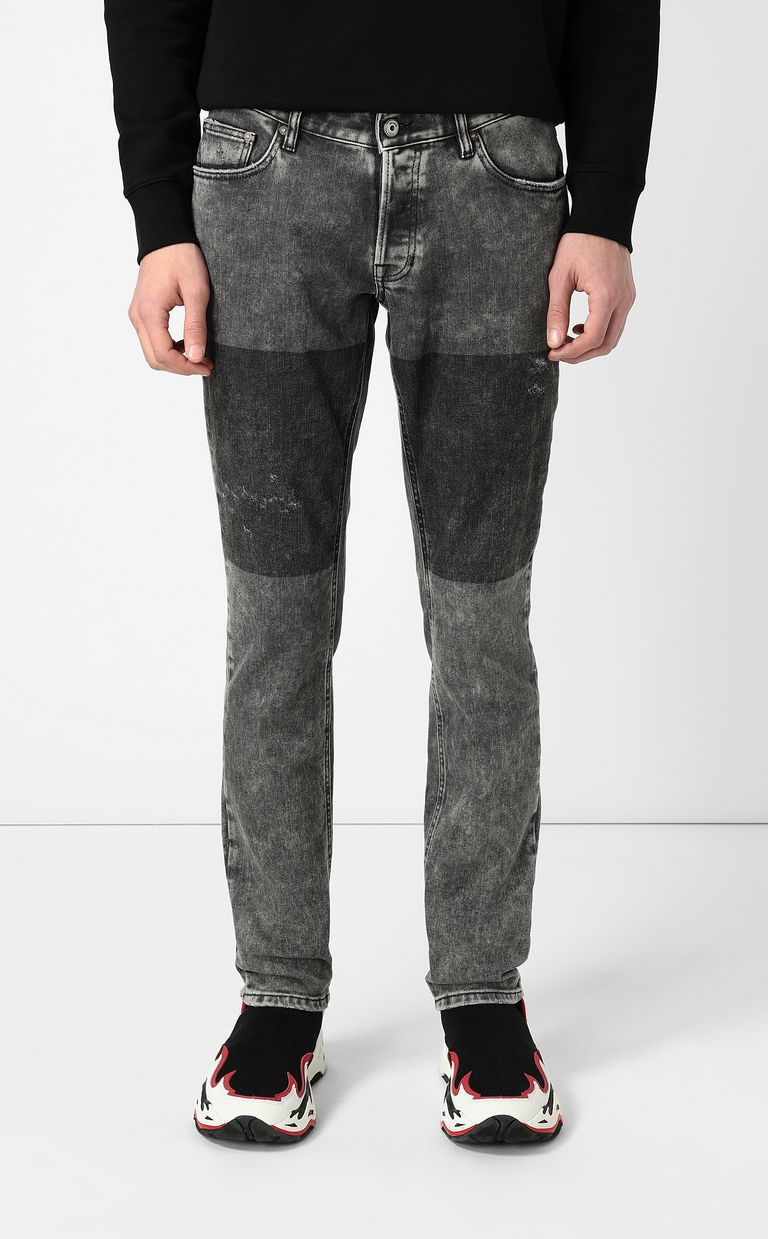 """JUST CAVALLI Grey jeans with a """"Just Fit"""" design Jeans Man r"""