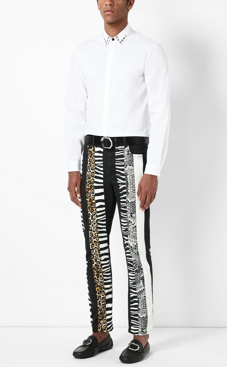JUST CAVALLI Gabber-fit jeans Jeans Man d