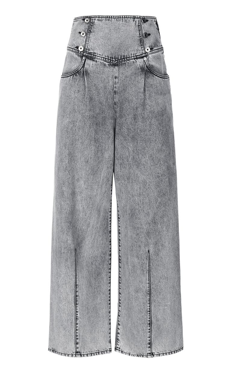 JUST CAVALLI Wide-leg high-rise jeans Jeans Woman f