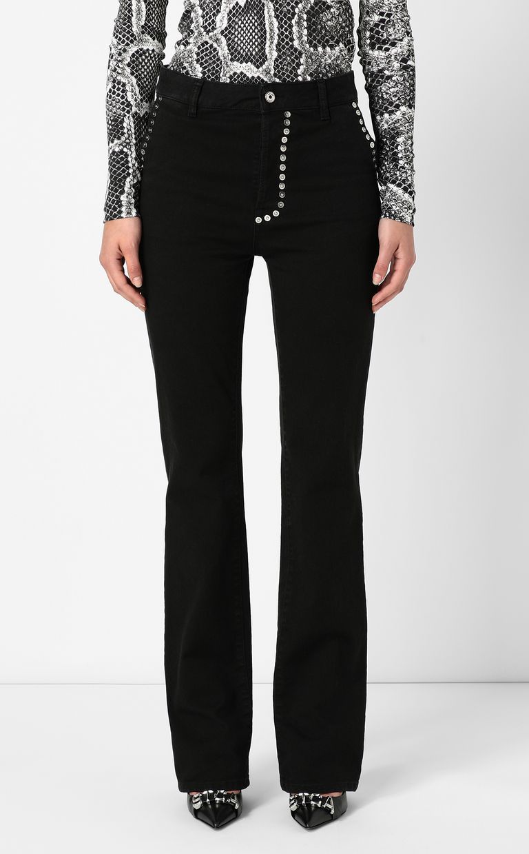JUST CAVALLI Bootcut jeans with studs Jeans Woman r