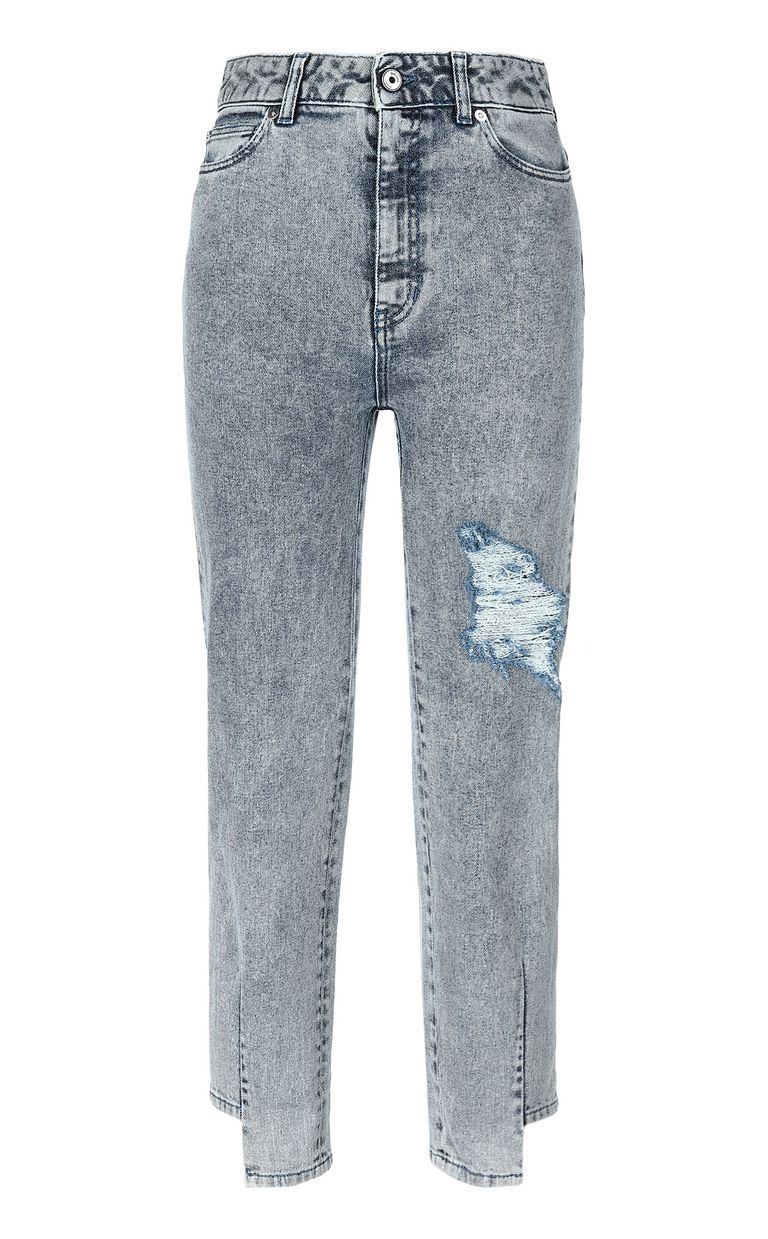 JUST CAVALLI Mom-fit jeans with ripped detail Jeans Woman f