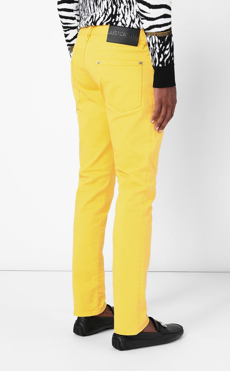 JUST CAVALLI Just-Fit jeans with studs Jeans Man a