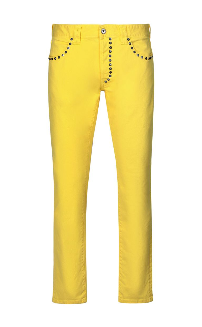 JUST CAVALLI Just-Fit jeans with studs Jeans Man f