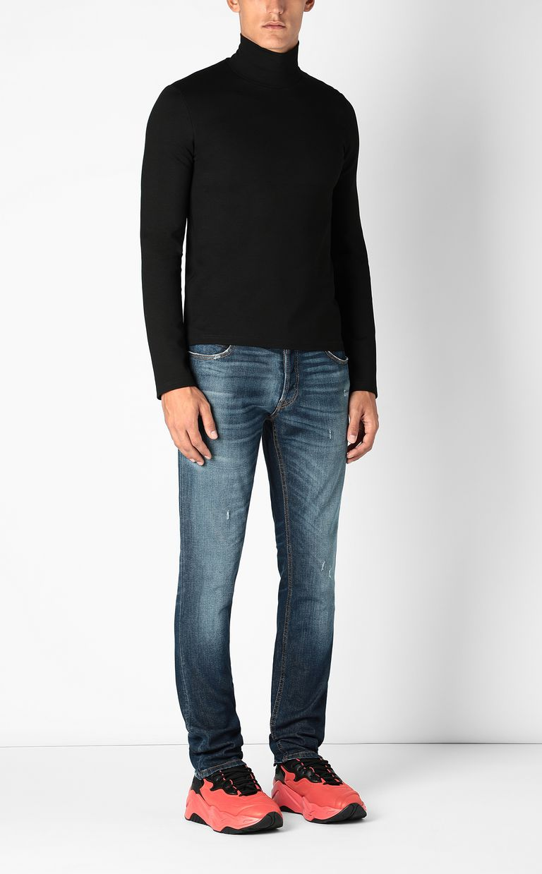 JUST CAVALLI Just-fit jeans with STCA logo Jeans Man d