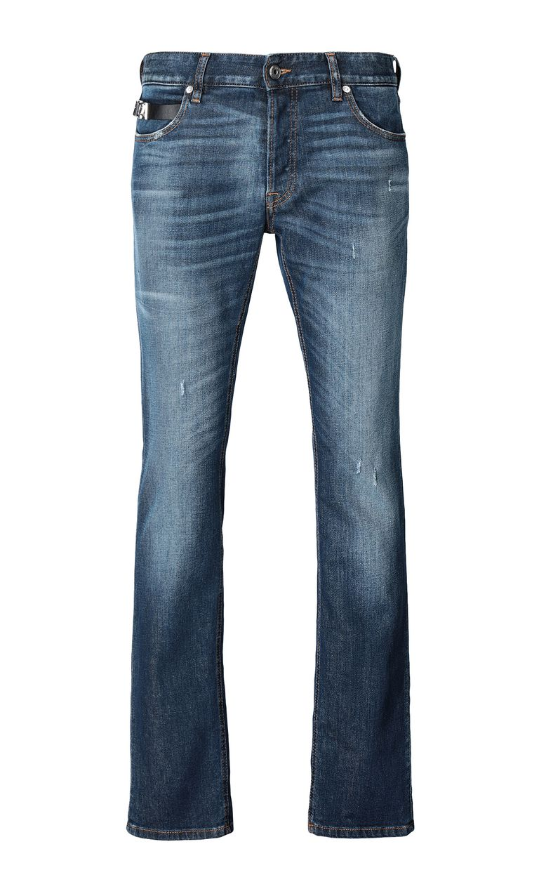 JUST CAVALLI Just-fit jeans with STCA logo Jeans Man f