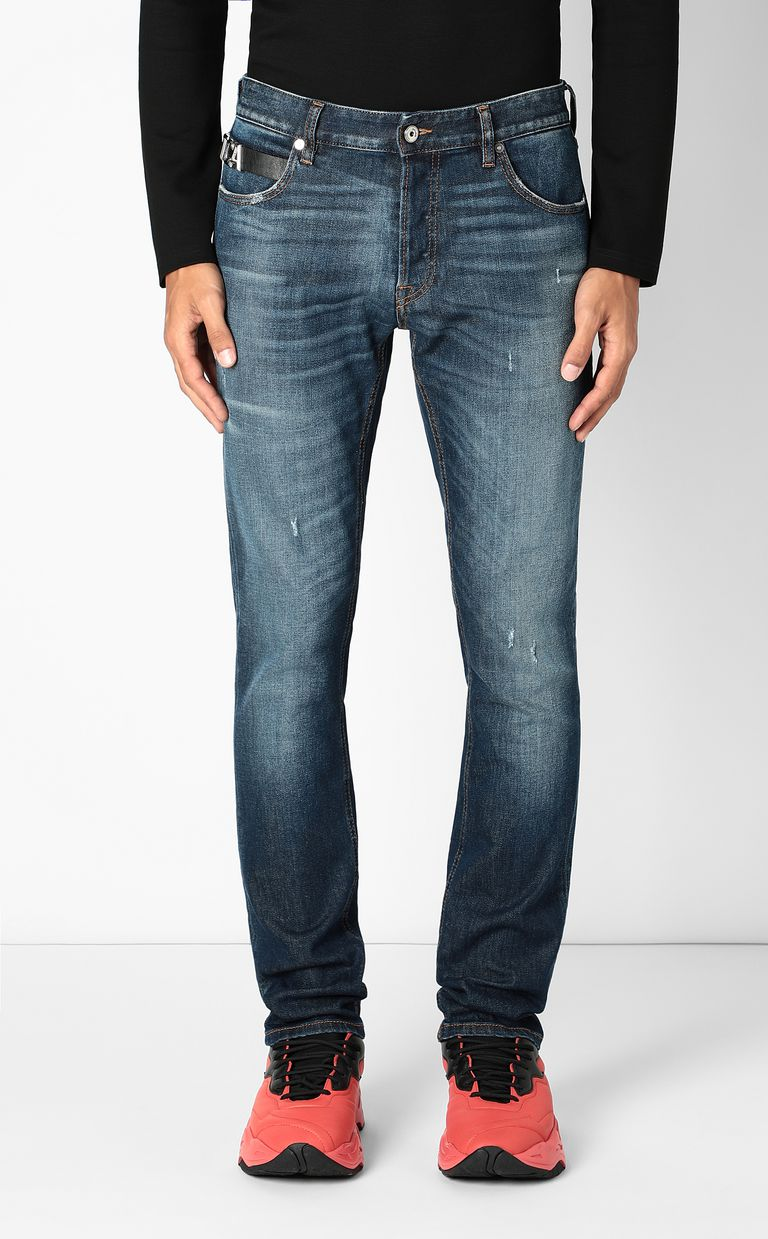 JUST CAVALLI Just-fit jeans with STCA logo Jeans Man r