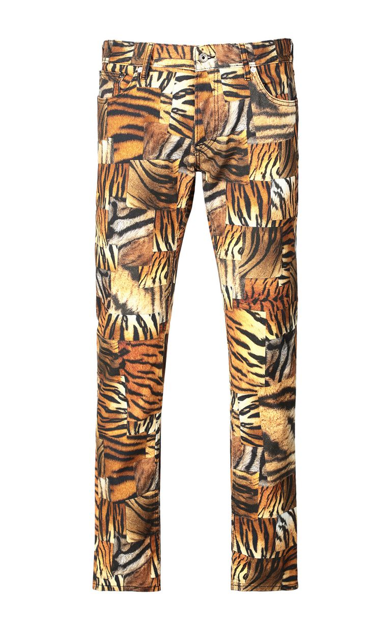 JUST CAVALLI Just-Fit jeans with print Jeans Man f