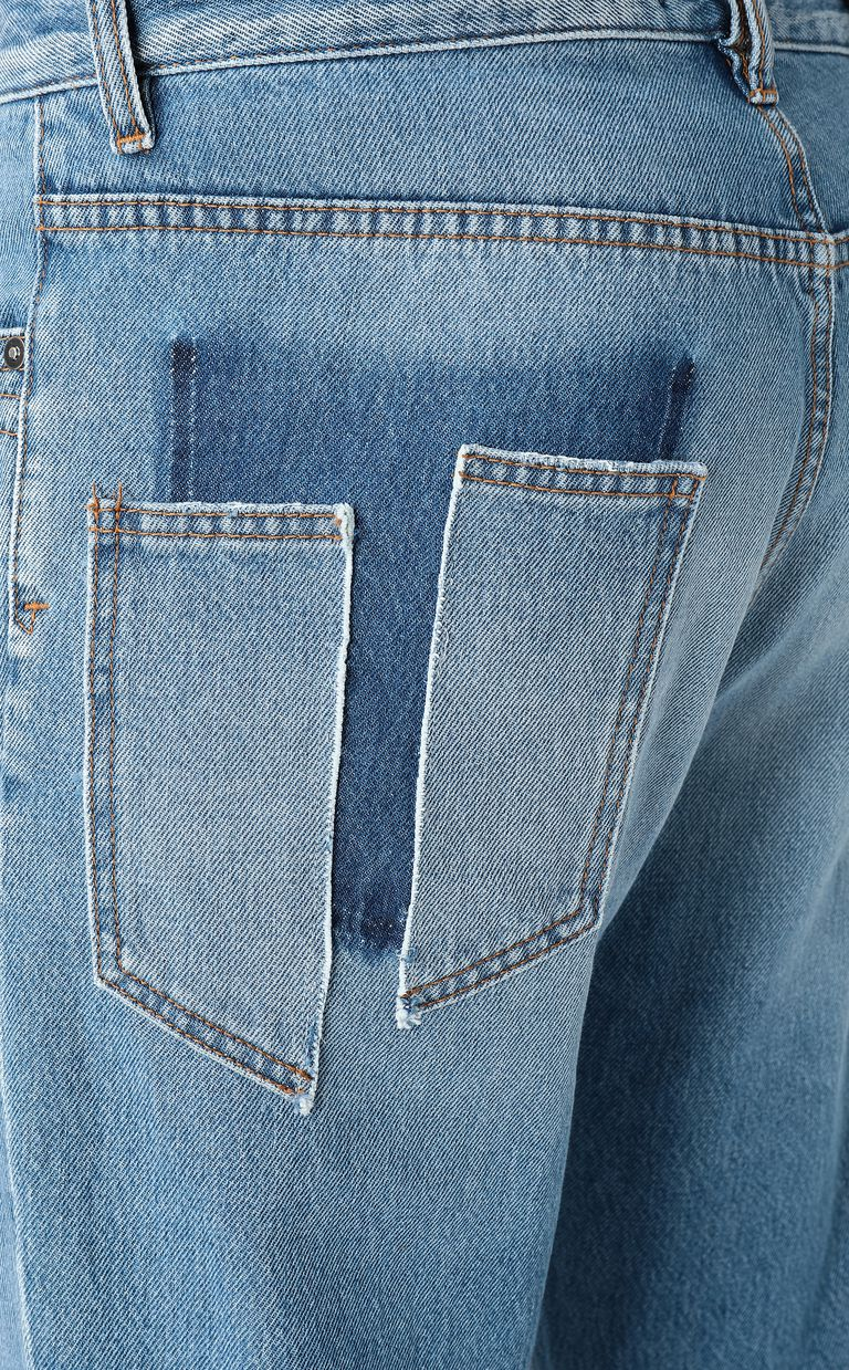 JUST CAVALLI Gabber-fit jeans with rips Jeans Man e