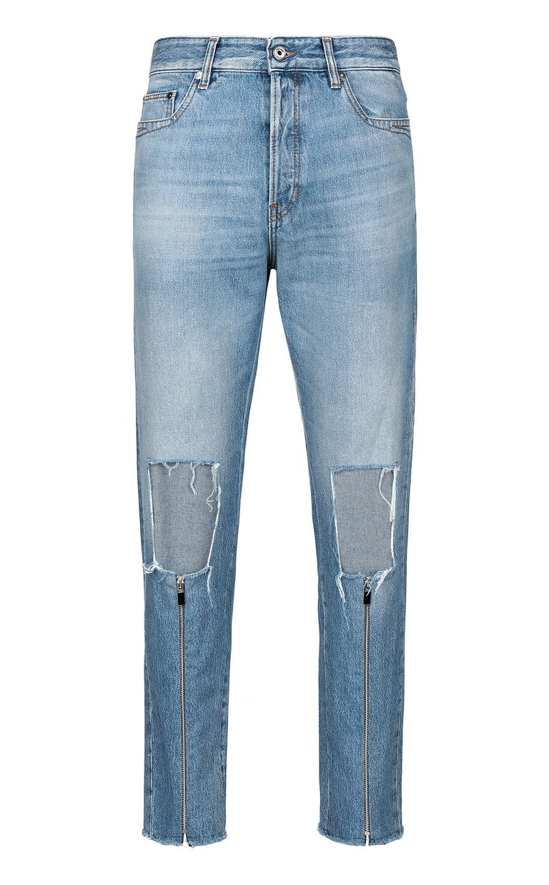 JUST CAVALLI Gabber-fit jeans with rips Jeans Man f
