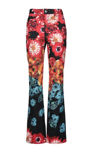 JUST CAVALLI Jeans Woman Skinny jeans with tie-dyed pattern f