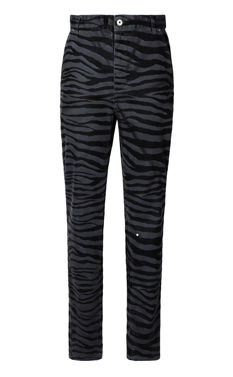 JUST CAVALLI Skinny jeans with zebra stripes Jeans Woman f