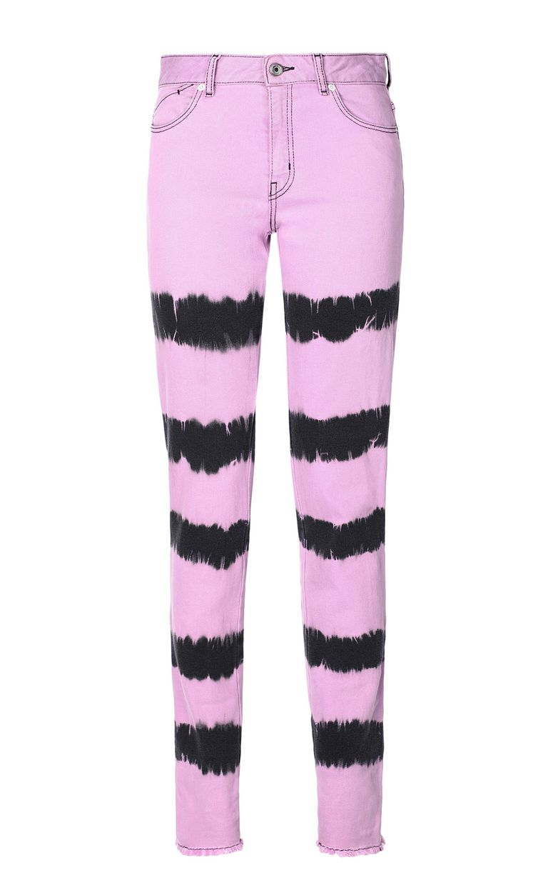 JUST CAVALLI Skinny jeans with tie-dyed pattern Jeans Woman f