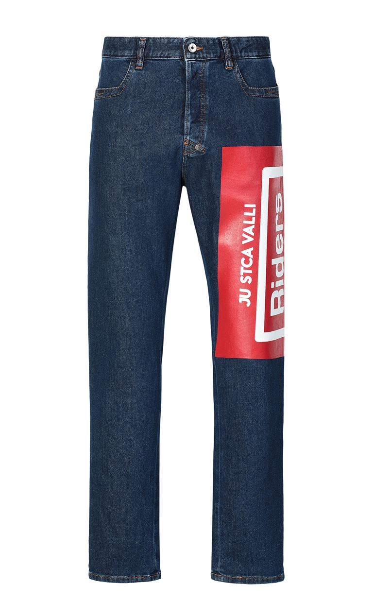 JUST CAVALLI Jeans with print Jeans Man f