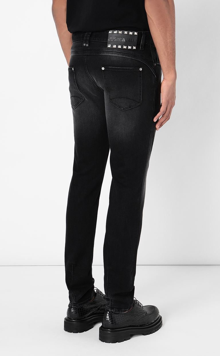 JUST CAVALLI Racer-fit jeans Jeans Man a