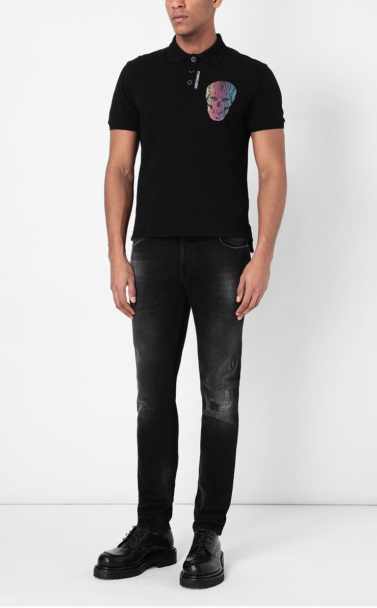 JUST CAVALLI Racer-fit jeans Jeans Man d