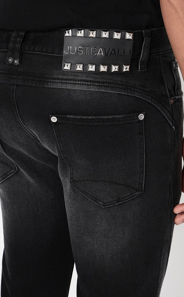 JUST CAVALLI Racer-fit jeans Jeans Man e