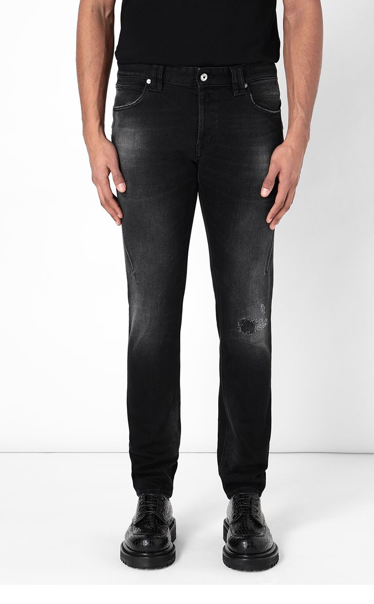 JUST CAVALLI Racer-fit jeans Jeans Man r