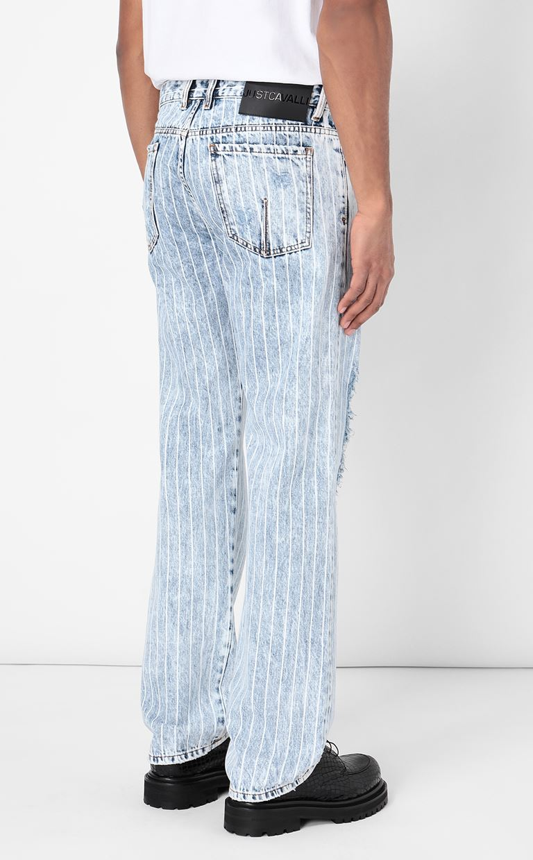 JUST CAVALLI Loose-fit jeans Jeans Man a