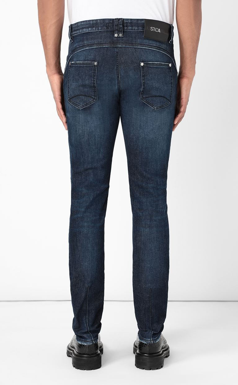 JUST CAVALLI Racer-fit jeans Jeans Man e