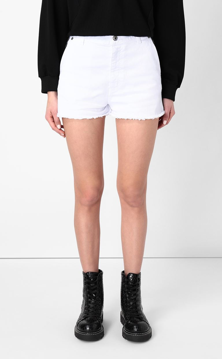 JUST CAVALLI Denim shorts Shorts Woman r