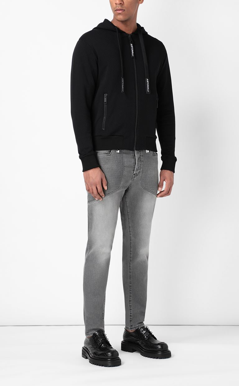 JUST CAVALLI Biker-style jeans Jeans Man d