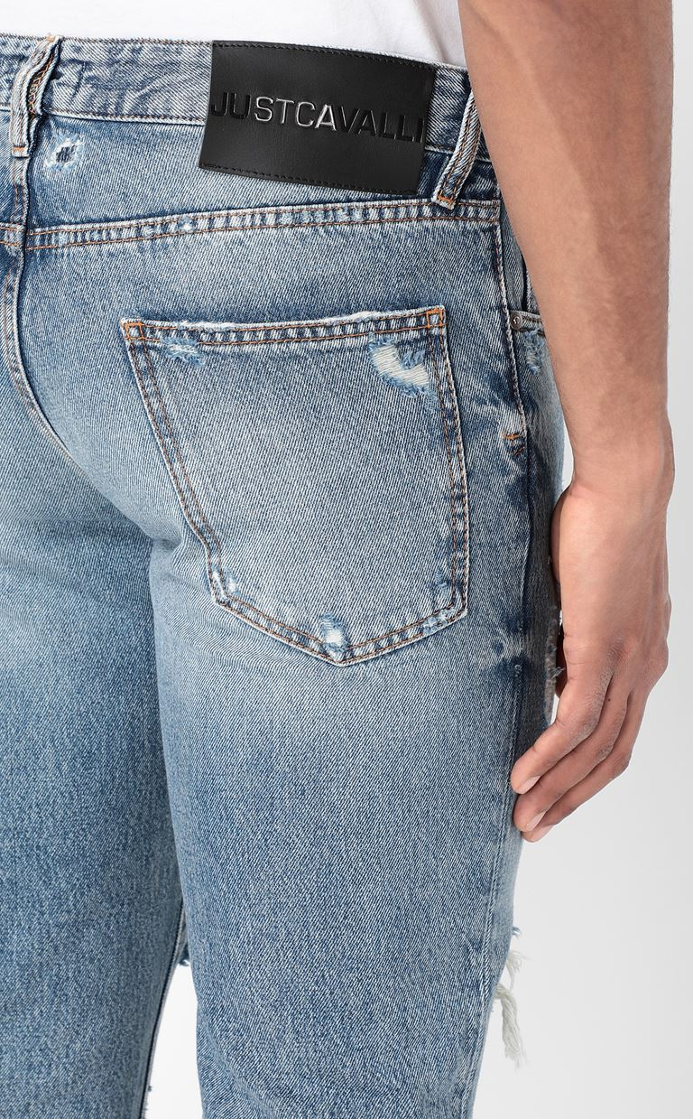 JUST CAVALLI Ripped jeans Jeans Man a