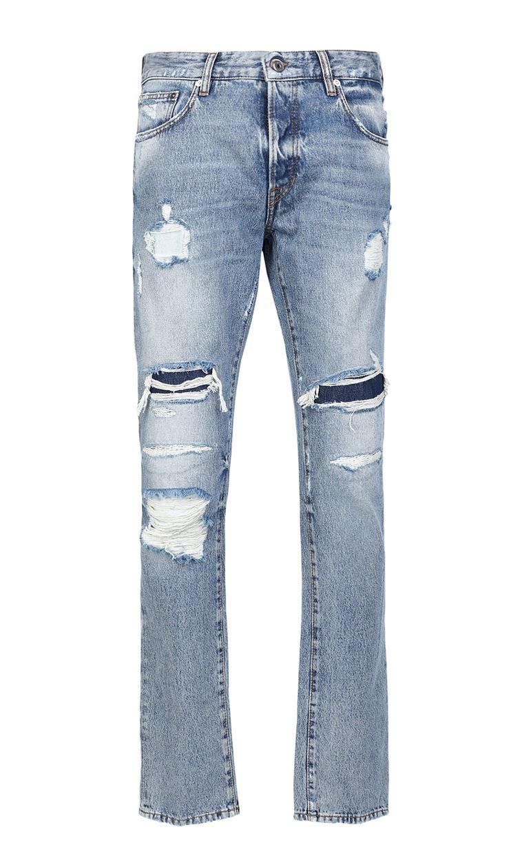 JUST CAVALLI Ripped jeans Jeans Man f
