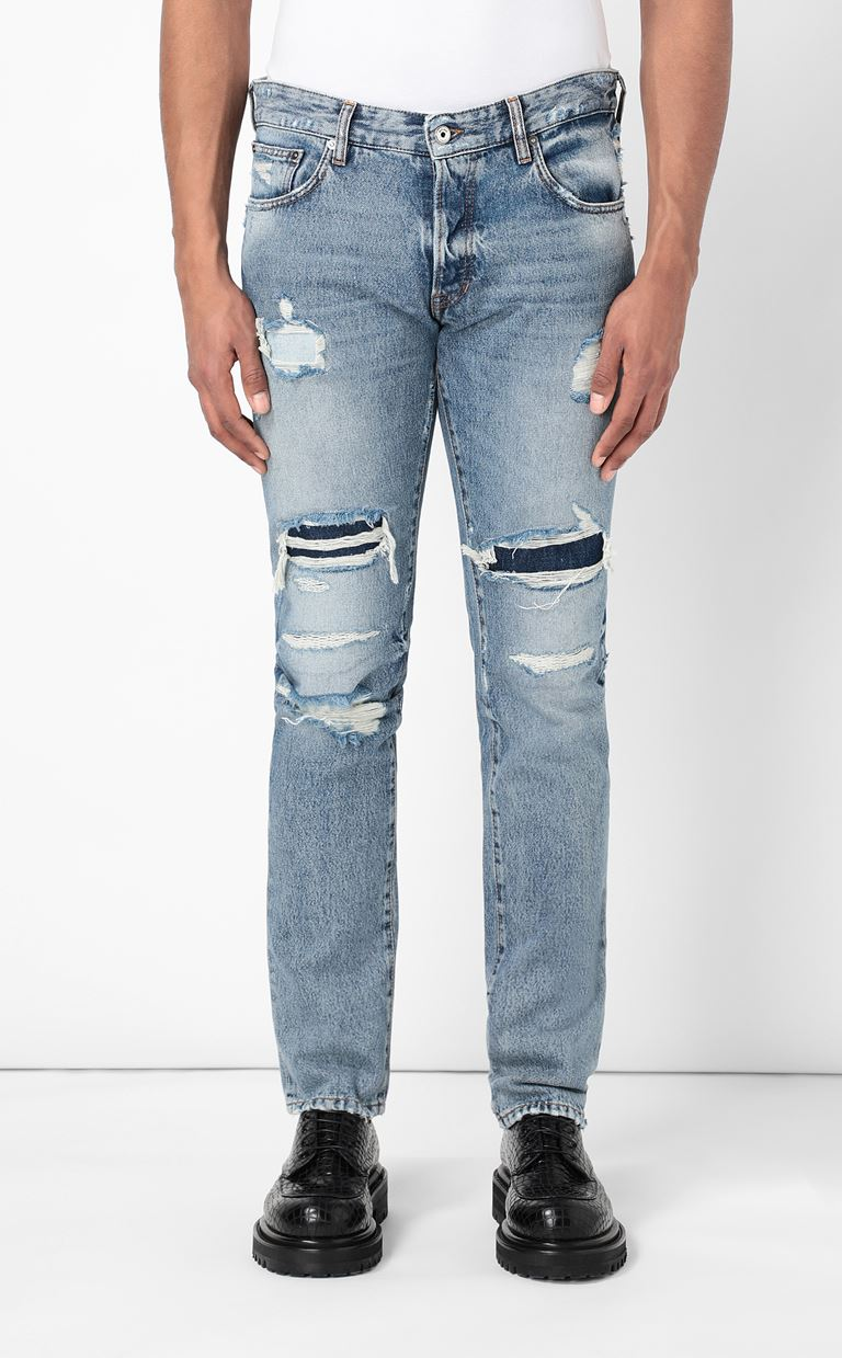 JUST CAVALLI Ripped jeans Jeans Man r