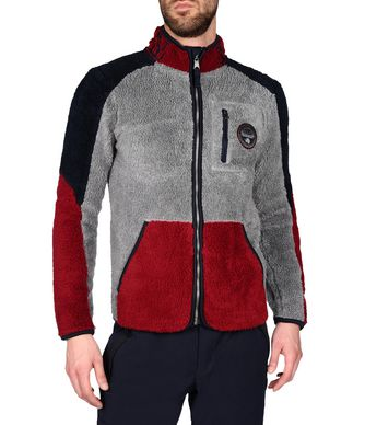 NAPAPIJRI YUPIK STAND MAN ZIP FLEECE