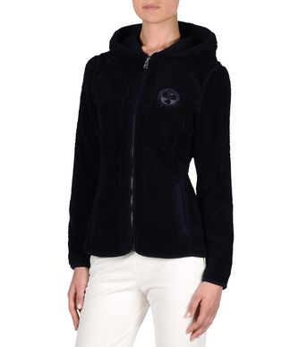 NAPAPIJRI YUPIK WOMAN SOLID WOMAN ZIP FLEECE