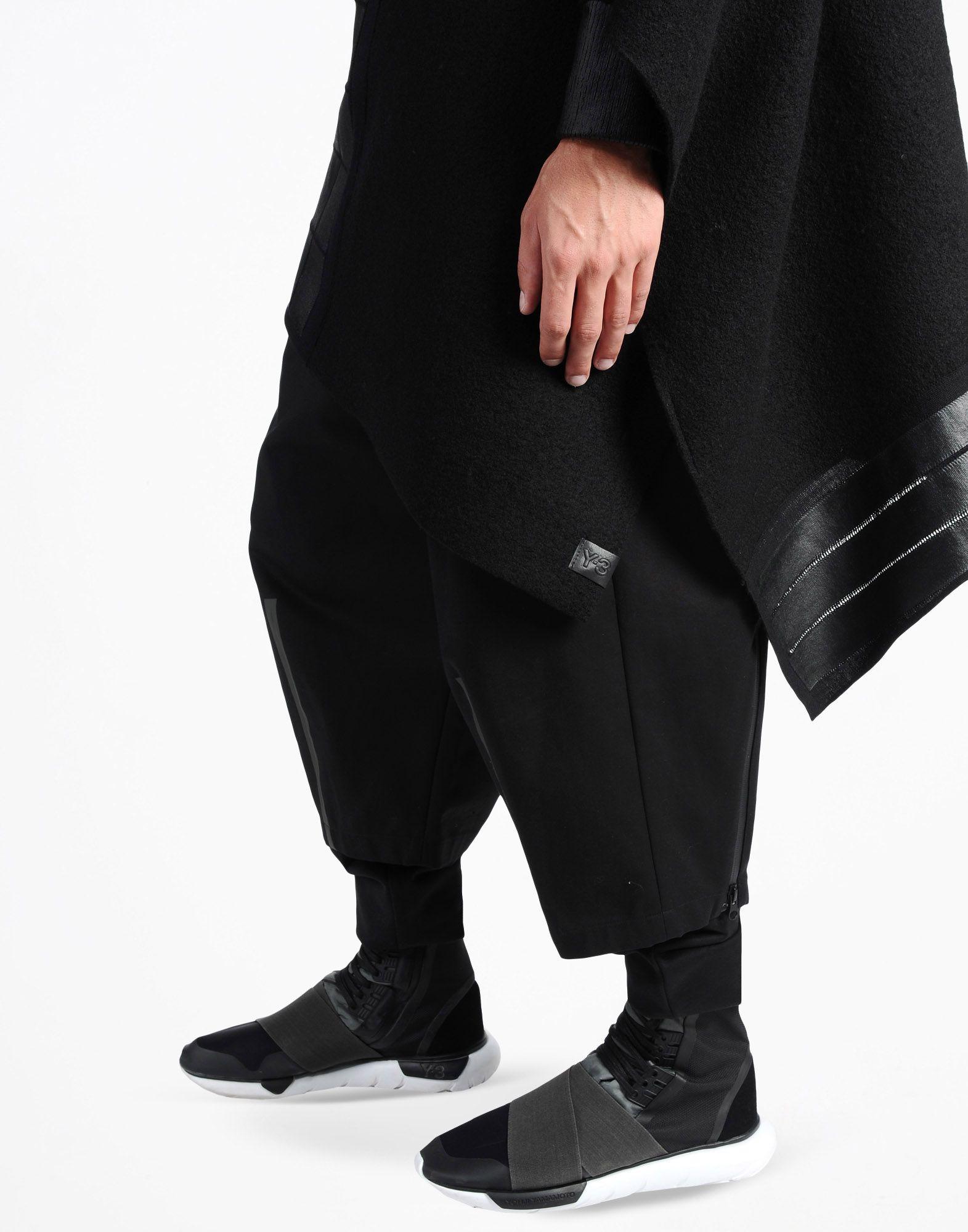 Y-3 Y-3 PONCHO SWEATER  Hooded sweatshirt Man a