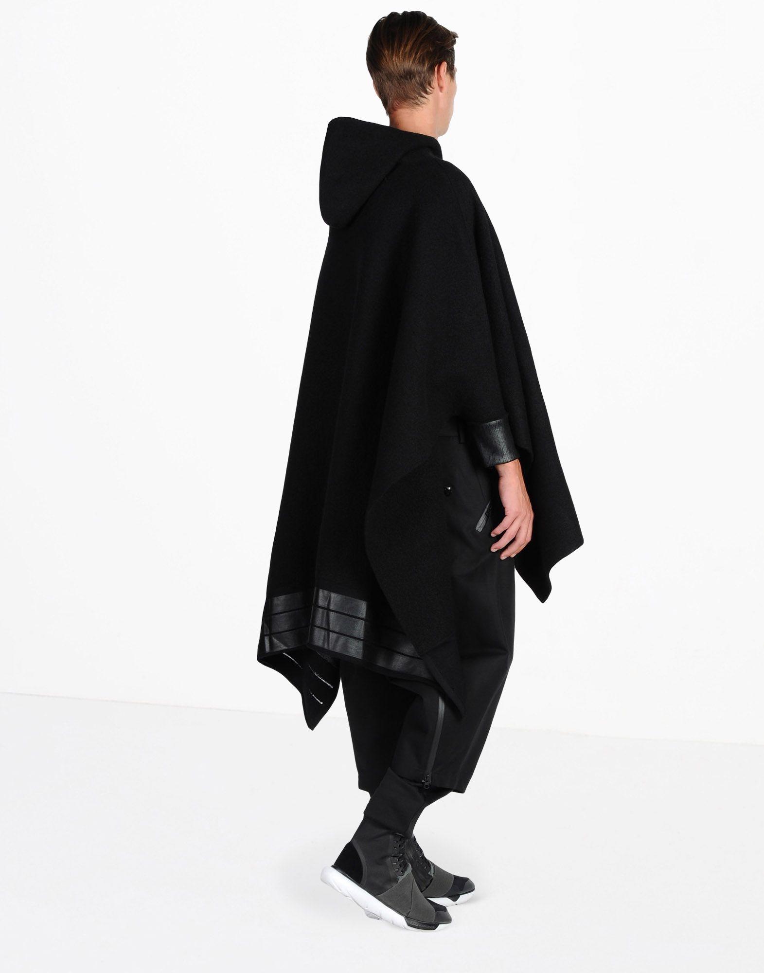 Y-3 Y-3 PONCHO SWEATER  Hooded sweatshirt Man d
