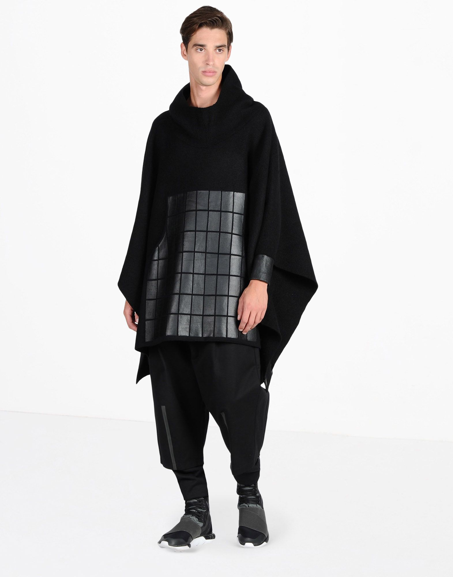 Famous Y 3 PONCHO SWEATER for Men | Adidas Y-3 Official Store PO72
