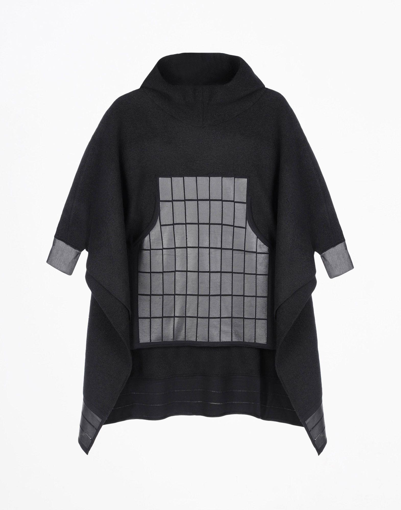 Y-3 Y-3 PONCHO SWEATER  Hooded sweatshirt Man r