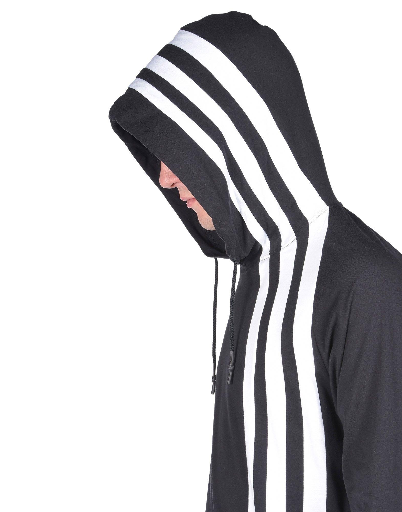 20b8f8fc9a88 Y-3 Y-3 3-STRIPES HOODIE Hooded sweatshirt Man a ...