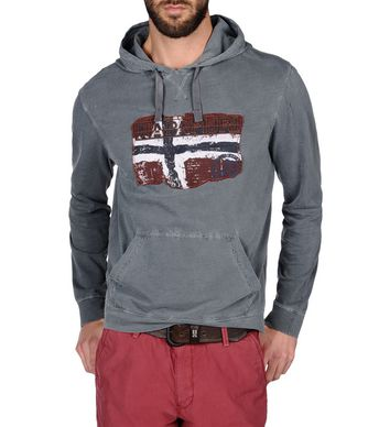 NAPAPIJRI BECKLEY MAN SWEATSHIRT,GREENHOUSE