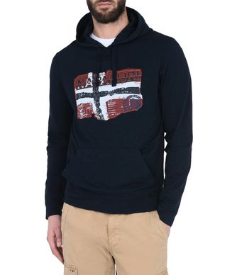 NAPAPIJRI BECKLEY MAN SWEATSHIRT,DARK BLUE